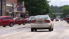 Downtown Sturgis South Dakota Stock Footage
