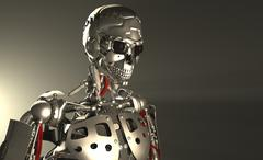 Stock Illustration of Advanced robot soldier
