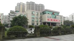 Jintang Town Chengdu Area Sichuan China 36 street handheld Stock Footage
