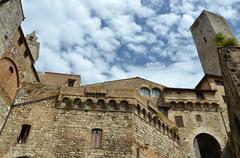 San Gimignano the province of Siena Stock Photos