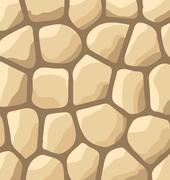 Texture of stones, stone wall background Stock Illustration