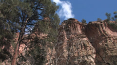 Bandelier National Monument in Los Alamos, New Mexico Stock Footage
