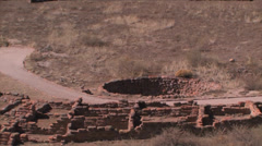 Native American Dwelling Stock Footage
