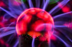 tesla sphere - stock photo