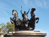 Stock Photo of Boadicea monument London