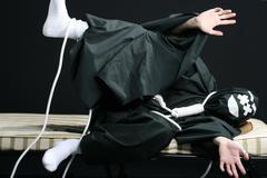 Black mime Stock Photos