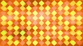 Kids cubes orange background, loop Footage