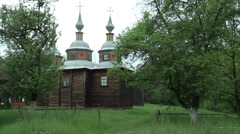 Cossack Church Stock Footage