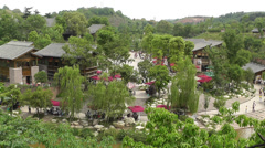 Wufeng Ancient Town Chengdu Area Sichuan China 16 Stock Footage