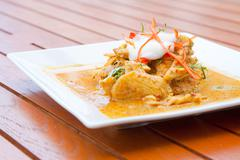 Thai Chicken Red Curry - stock photo