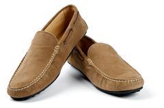 Säämiskänahka Miesten kengät Kuvituskuvat