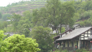 Stock Video Footage of Wufeng Ancient Town Chengdu Area Sichuan China 34