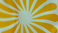 Stock Video Footage of Sun or flower flag