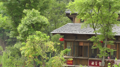Wufeng Ancient Town Chengdu Area Sichuan China 37 Stock Footage