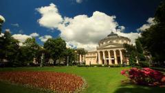 Athenaeum In Bucharest - stock footage