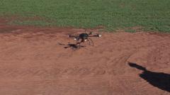 Chickasha Farm Flights Stock Footage