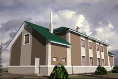 home residential - stock illustration
