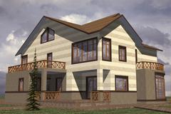 Stock Illustration of home residential