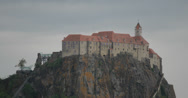 Stock Video Footage of 4K video of the stunning Riegersburg Castle in Austria