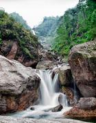 Naga Falls, Sikkim Stock Photos