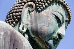 Great Buddha of Kamakura - stock photo