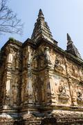 chedi in wat chedyod , chiangmai - stock photo