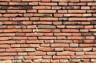 Stock Photo of vintage red brick wall
