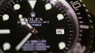 Stock Video Footage of Video of a Rolex Deepsea Sea Dweller