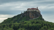 Stock Video Footage of HD time lapse of the stunning Riegersburg Castle in Austria