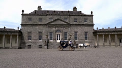 Russborough House Co. Wicklow Stock Footage