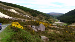 Wicklow Way Stock Footage