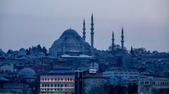 Süleymaniye Mosque Stock Footage