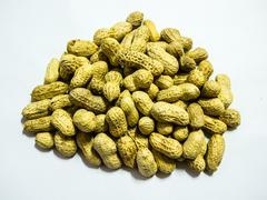 peanuts have many useful - stock photo