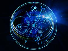 Astrology Dial Stock Illustration