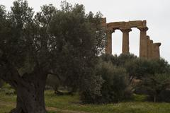 Valley of the Temples, Agrigento - stock photo