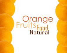 orange background - stock illustration