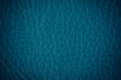 Blue leather Stock Photos