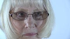Classy Senior Citizen - stock footage