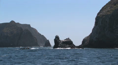Channel Islands National Park  - Anacapa Island Stock Footage