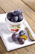 Prunus domestica Stock Photos