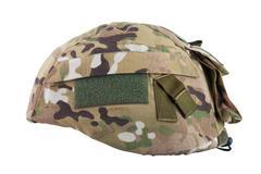 Military helmet - stock photo