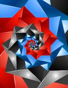 Stock Illustration of vector background abstract geometric design