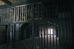 Abandoned Storehouse - stock photo