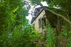 Dilapidated house Stock Photos