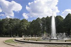 Fountains - stock photo