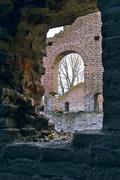Ruins - stock photo