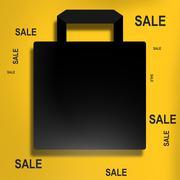 Stock Illustration of shopping bag design
