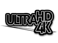 Ultra hd 4k Stock Illustration