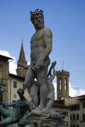 Firenze Neptune Stock Photos