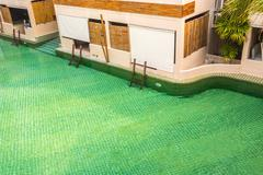 room pool access. - stock photo